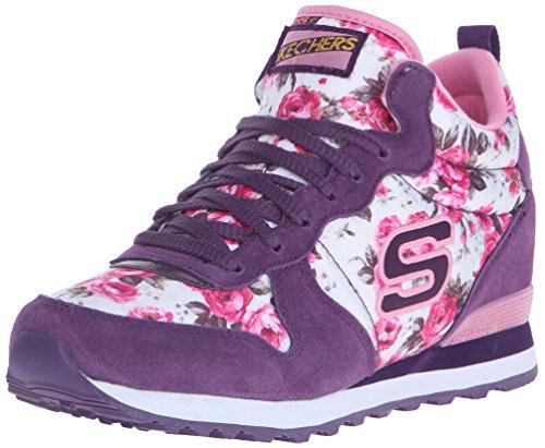 Skechers Originelen Dames Retros Og 85 Fashion Sneaker Paars / Roze Roos