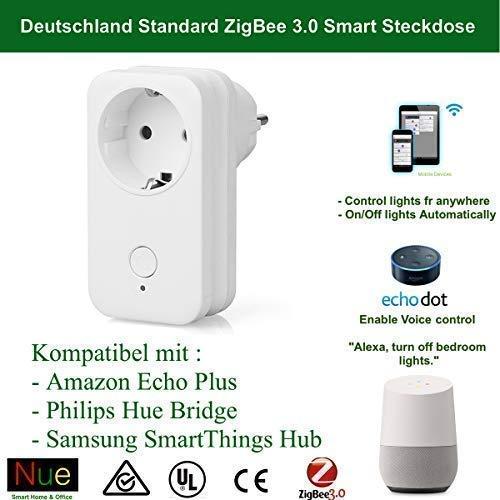 Google Home ZigBee Bridge Echo Dot Intelligente ZigBee Alexa Echo SmartThings Hub compatible avec Echo Plus VON TONBUX