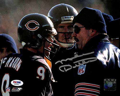 Bears Mike Ditka Authentic Signed 8x10 Photo Autographed PSA/DNA #AB32653