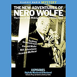 The New Adventures of Nero Wolfe Radio/TV Program