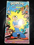 VHS Popeye the Sailer Meets Sinbad & Ali Baba & the 40 Thieves in Color