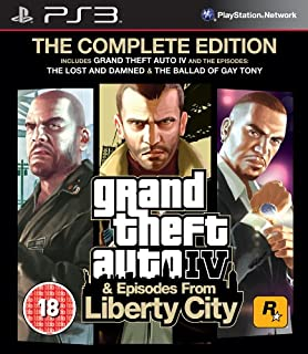 Grand Theft Auto Iv Complete Edition Ps