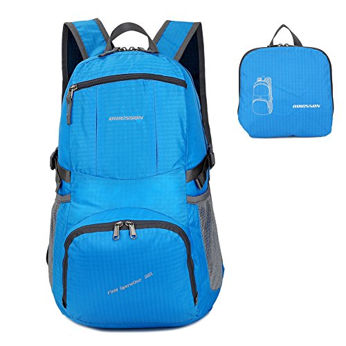 ORICSSON Rate 35L Carry on Large Portable Waterproof Backpack Daypack for Women & Men for...