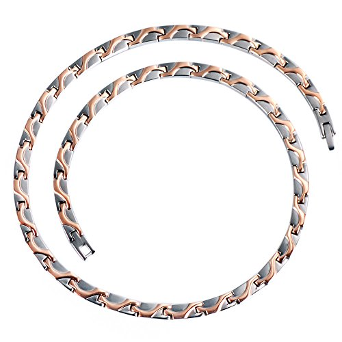 Wollet TIN 1250SR Magnetic Titanium Necklace