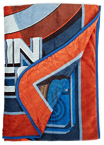 Marvel Avengers Captain America Blanket: 62in x 90in, Super Soft and Warm