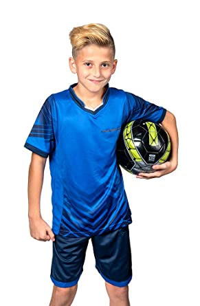 360a11d8b Soccer Jerseys for Kids Boys and Girls Shorts and T-Shirts Sports Wear Set (