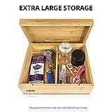 Rolling Tray Stash Box - Extra Large Bamboo Box