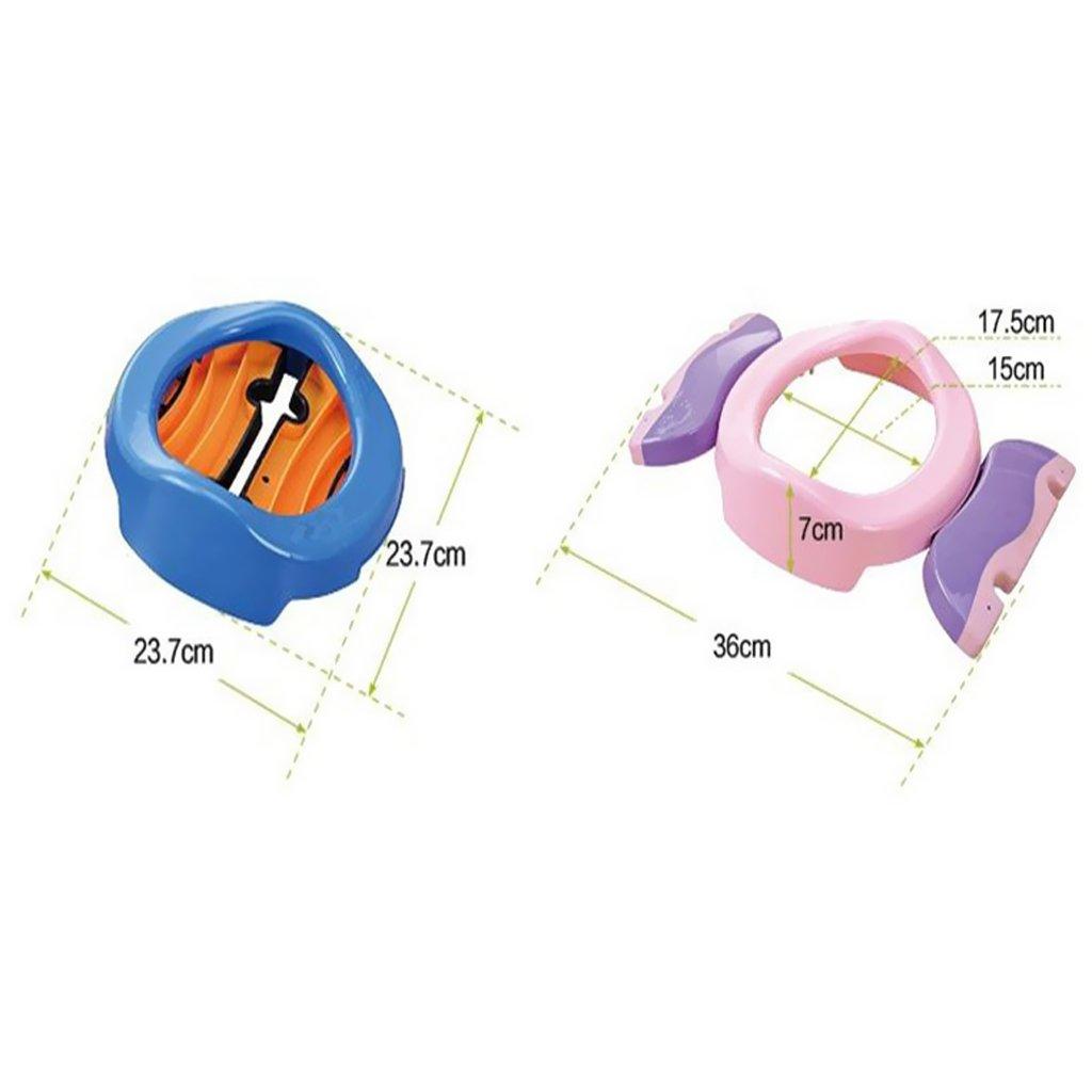 SANDIN Asiento plegable port/átil para ni?os asiento de inodoro bolsa de pl/ástico especial 20