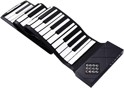 Pianos y teclados Laminado a Mano Portátil Teclado ...