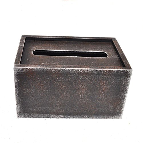 Retro Wooden Tissue Box Cover for Home Office Car Decor , 181210cm by YANXH home (Image #2)