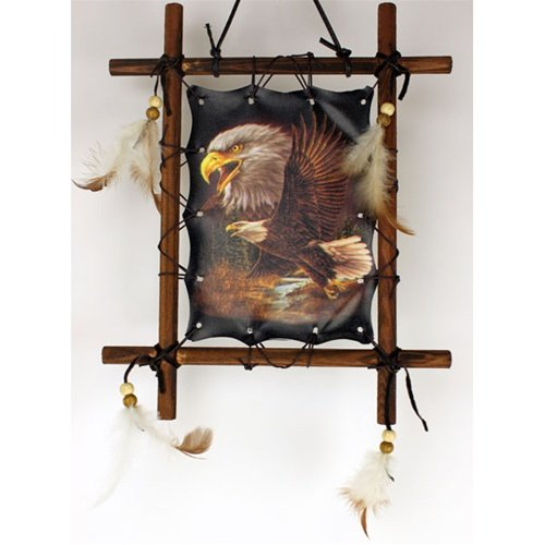 1 X Framed Indian EAGLES Picture Native  - Native American Wall Decor Shopping Results