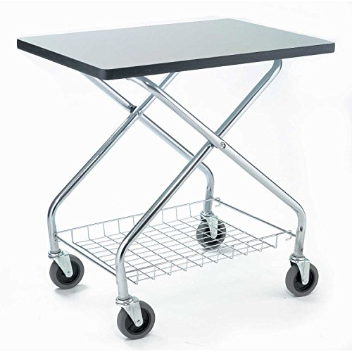 Fold and Store Service Cart, 350 Lb. Capacity, 28