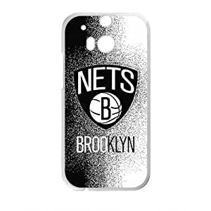 New Jersey Nets NBA Fahionable And Popular High Quality Back Case Cover For HTC M8