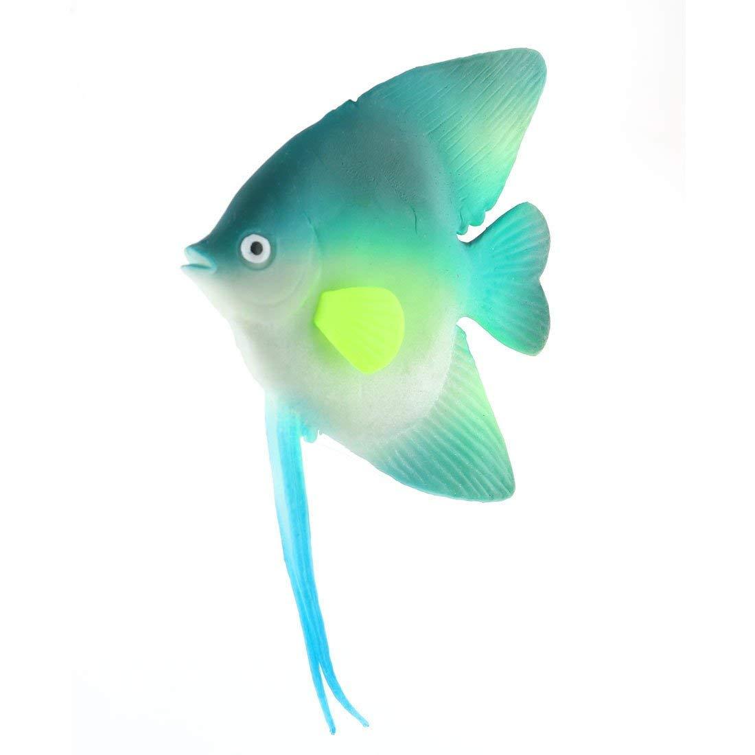 1Pc Silicone Artificial Floating Hippocampus Decor Multicolor for Fish Tank Aquarium