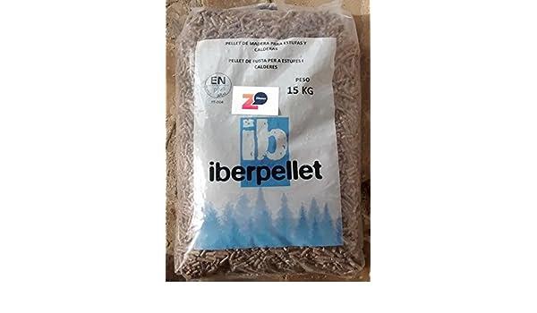 Iberpellet; palé de pellets 70 sacos. Certificado ENPlusA1. Para estufas y calderas.: Amazon.es: Bricolaje y herramientas