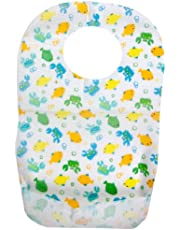 Summer Keep Me Clean Disposable Bibs Travel Pack, 20-Count