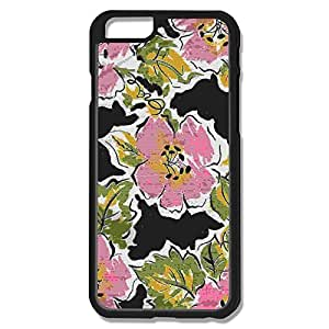IPhone 6 Cases Large Pink Floral Design Hard Back Cover Shell Desgined By RRG2G