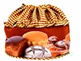 Insulated Bread Warmer Basket- Bun Warmer Cloth Helps Keep Bread and Rolls Warm for Up to an Hour