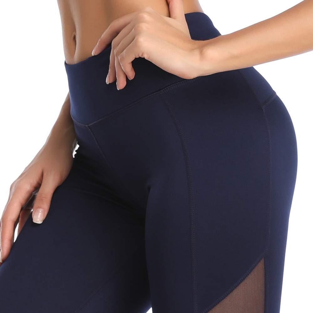 Corsa Fitness Pantaloni Sportivi da Donna Allenamento Joweechy in Rete per Palestra