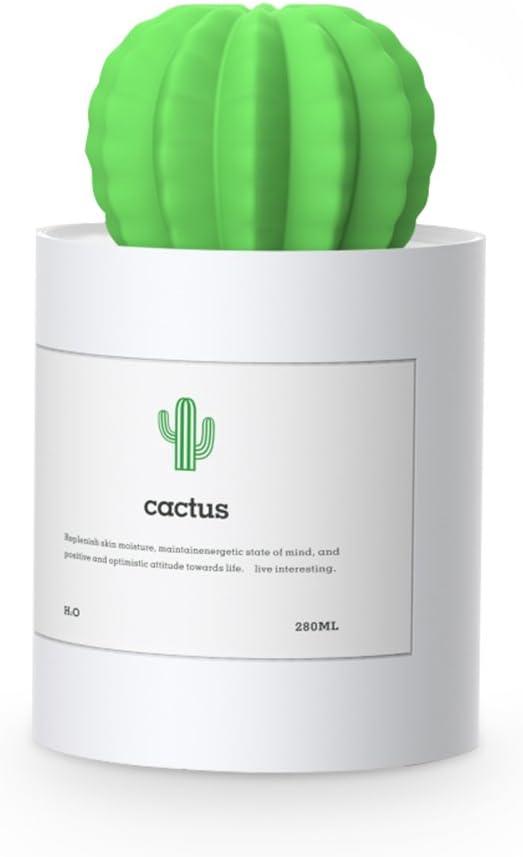 Humidificador Ultrasónico, Moojay Cactus Humidificador Negativo de ...