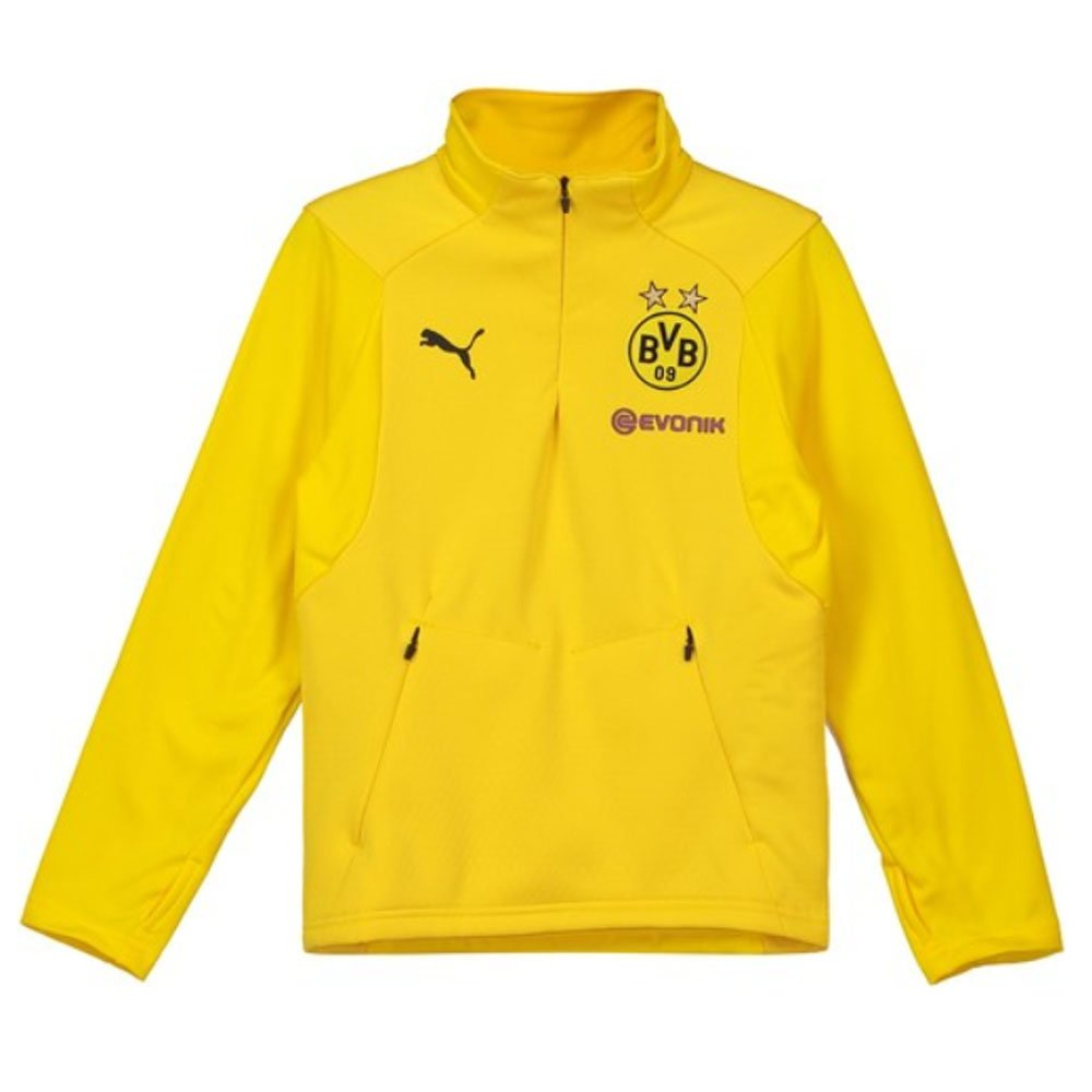 Puma 2018-2019 Borussia Dortmund Training Fleece (Yellow) - Kids