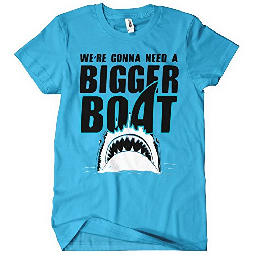 WE'RE GONNA NEED A BIGGER BOAT TSHIRT Funny Retro Jaws TEE Retro Shark Week