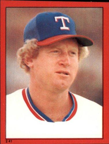 1982 Topps Baseball Sticker #241 Pat Putnam Mint - 1982 Sticker Baseball Topps