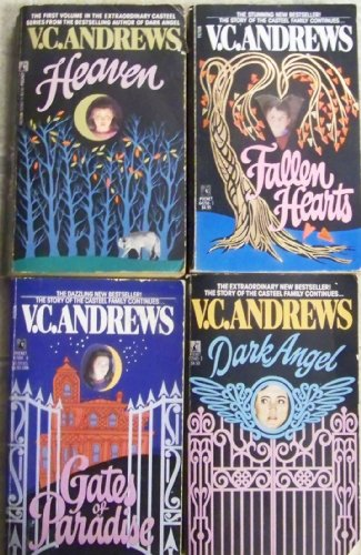 4 V C Andrews (Casteel Series) Heaven, Fallen Hearts, Gates of Paradise, Dark Angel (Casteel)