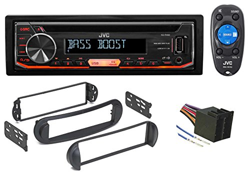 JVC CD Player Receiver USB/AUX/MP3 3-Band Eq+Remote For 99-10 VOLKSWAGEN (1999 99 Volkswagen Beetle)