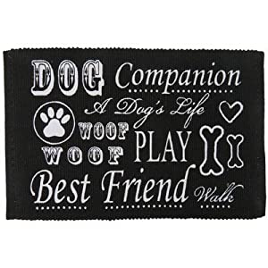 Pb Paws Co Dog Companion Cotton Pet Mat Color Blackwhite 50off