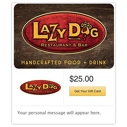 Lazy Dog Gift Card - E-mail - Us Online Buy