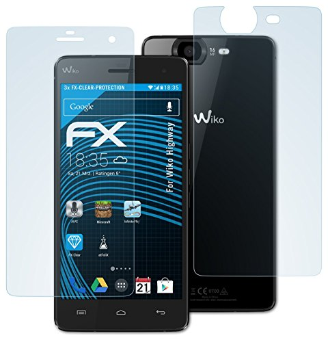 Tempered Glass Screen Protector for Wiko Highway Pure 4G - 1