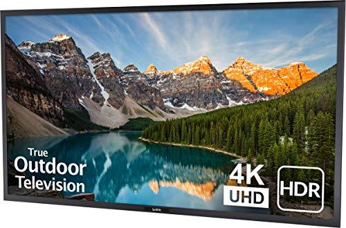 SunBriteTV Weatherproof Outdoor 55-Inch Veranda (2nd Gen) 4K UHD HDR LED Television – SB-V-55-4KHDR-BL Black
