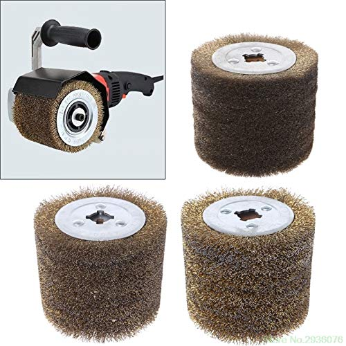 Maslin New Arrival Deburring Abrasive Stainless Steel Wire Round Brush Polishing Grind Buffer Wheel Drop Shipping Support - (Size: 0.15)