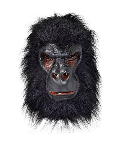 Bristol Novelty Gorilla Latex Mask, One