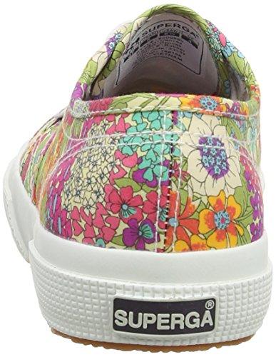 Superga 2750 Liberty, Chaussons Sneaker Adulte Mixte Grün (912 Tropical)