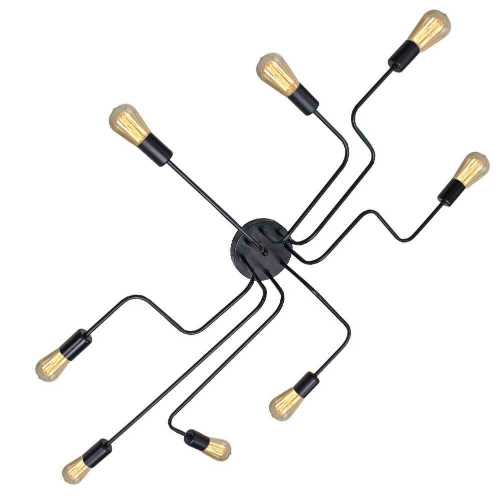 Industrielle Vintage Deckenleuchte Retro Pendelleuchte hängende Leuchte E27 Unterputz Beleuchtung Für Wohnzimmer Wohnzimmer Flur Shop.