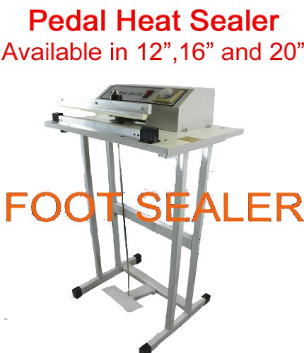 Easyway 20'' Pedal Style Foot Sealer, Stands Included by Easy Way Products