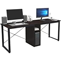 Soges Large Double Workstation Desk, 78 inches Dual Desk 2-Person Computer Desk, Home/Office Desk/Writing Desk with…