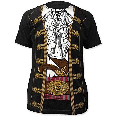 Pirate Prince Buccaneer Jacket Uniform Costume Outfit Suit Mens 3XL T-shirt for $<!--$14.63-->