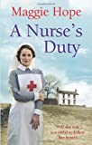 A Nurse's Duty, Maggie Hope, 0091949157