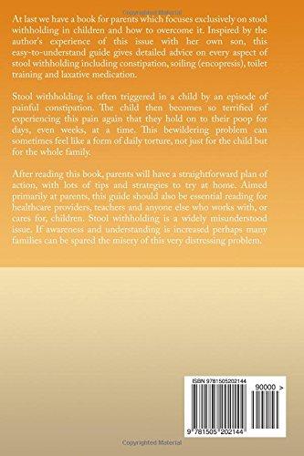 Stool Withholding: What To Do When Your Child Wont Poop! USA Edition: Amazon.es: Sophia J Ferguson: Libros en idiomas extranjeros