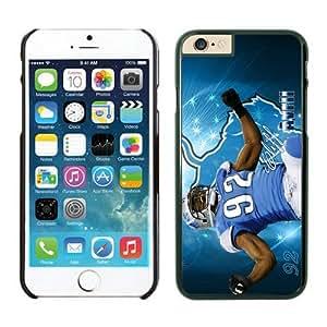 NFL Detroit Lions Cliff Avril iPhone 6 Plus Case Black 5.5 Inches NFLIphone6PlusCases12673