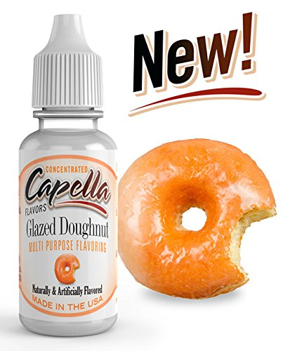 Capella Flavor Drops Glazed Doughnut Concentrate 13ml bottle