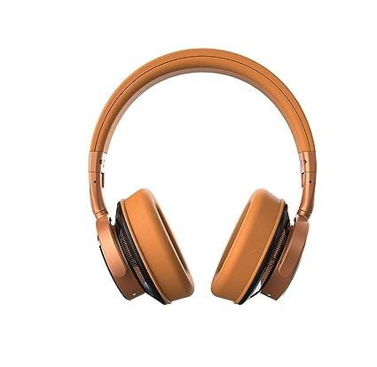 Aolvo Auriculares Bluetooth para oídos, auriculares inalámbricos plegables de viaje, manos libres, cancelación