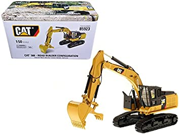 amazon diecast masters die85923 caterpillar 568 gf road builder