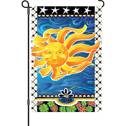 - Premier 51437 Garden Brilliance Flag, Radiant Sun, 12 by 18-Inch