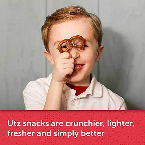 "Utz Country Store Pretzel Stix – 55 oz. Barrel –Thicker 4"" Pretzel Sticks, Perfect for Dipping - Thick, Crunchy Pretzel Sticks with Zero Cholesterol, 3 Pack"