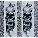 i5® Fork Skull Decals for
