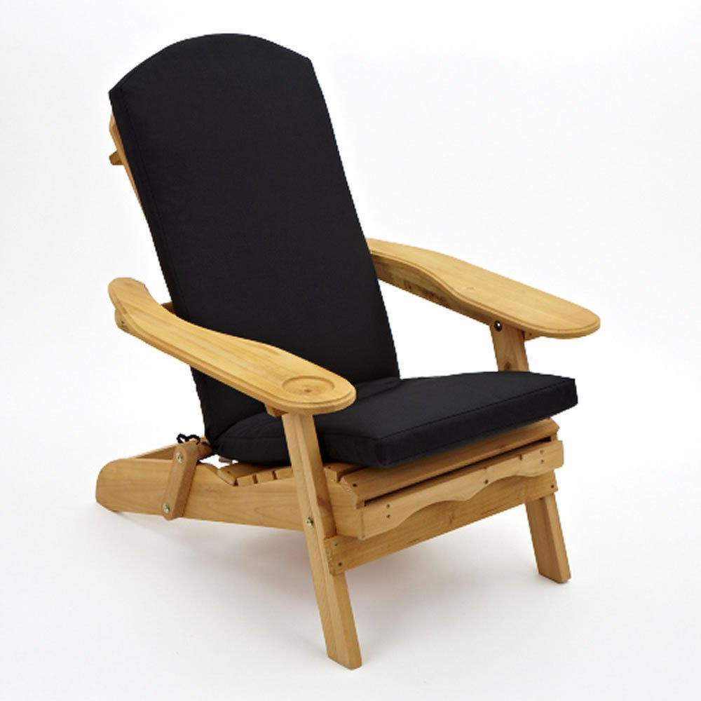 Adirondack Gartenstuhlpolster. Sitz-, Rücken- und Kopfpolster in Einem, in 6 Farben erhältlich, 520mm x 470mm - NUR POLSTER